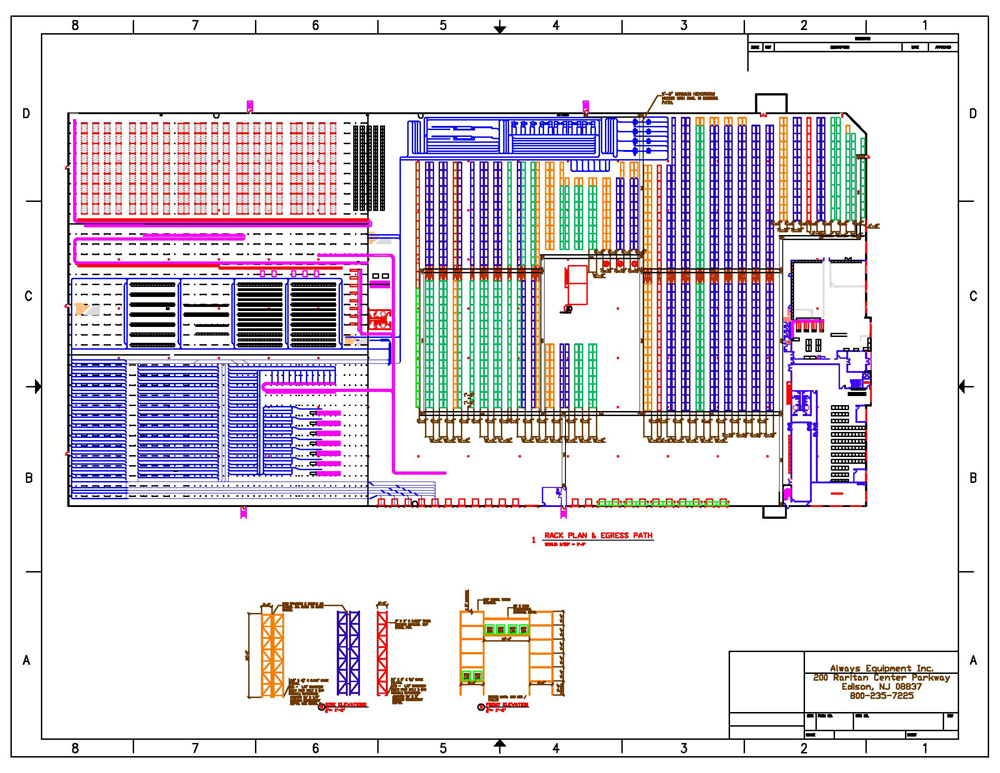Warehouse layout plans house plans home designs for Warehouse plans designs