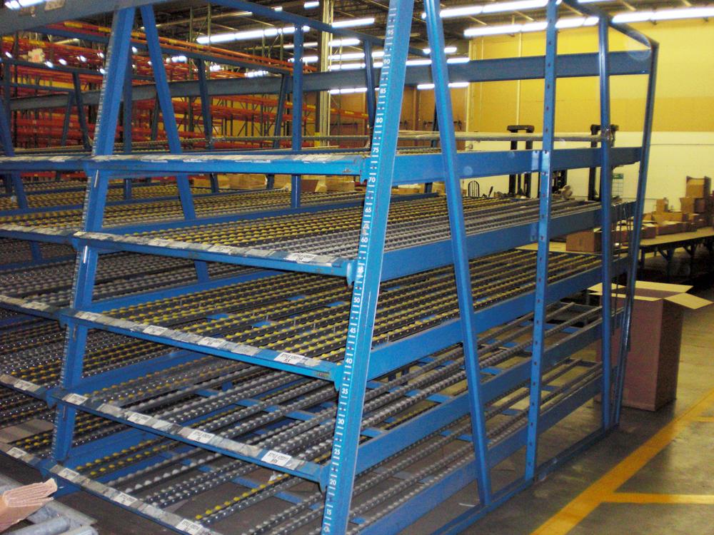 Kingway Carton Flow Rack