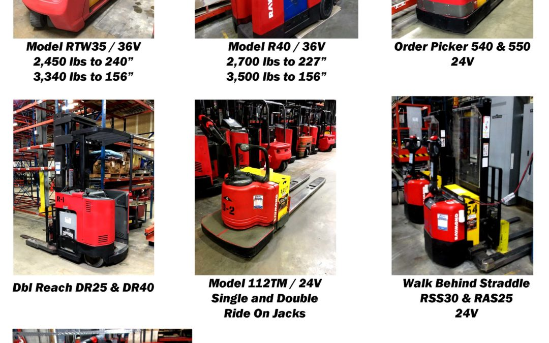 Raymond Lift Truck Liquidation