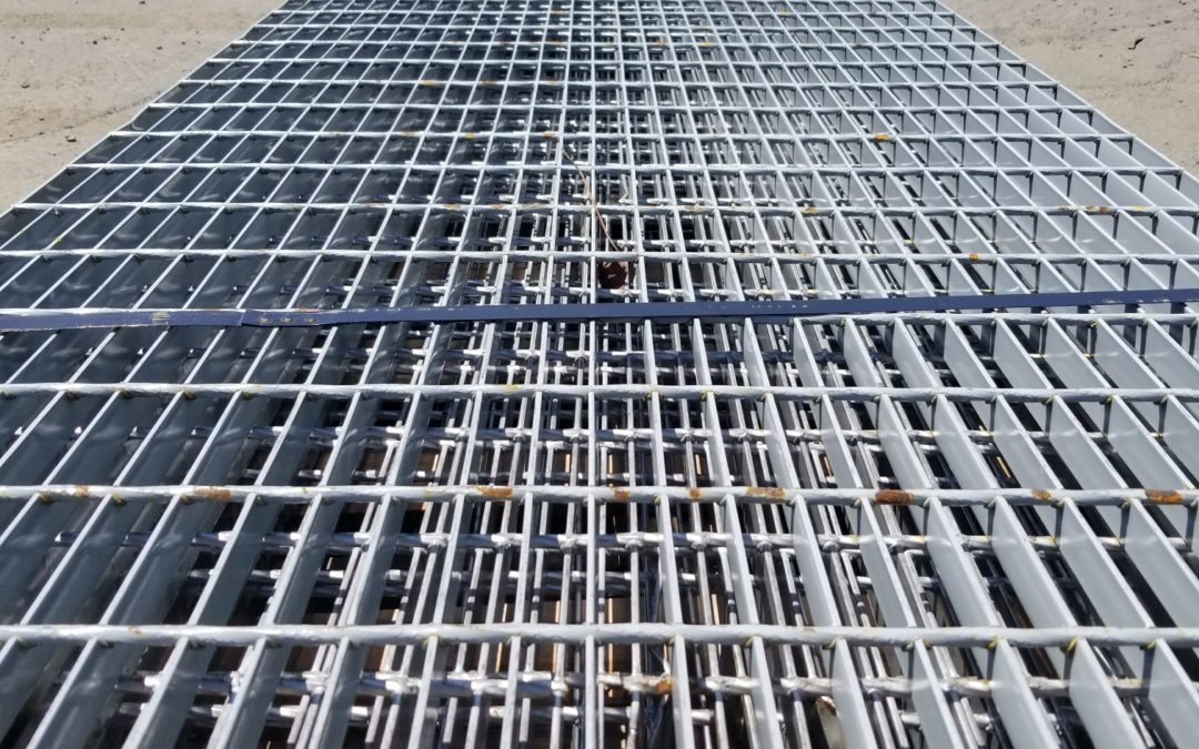 Used Bar Grating
