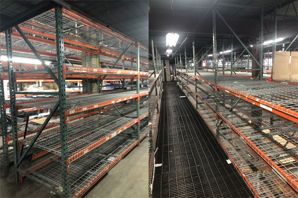 Used Pallet Rack Incoming Week of 3/4/19