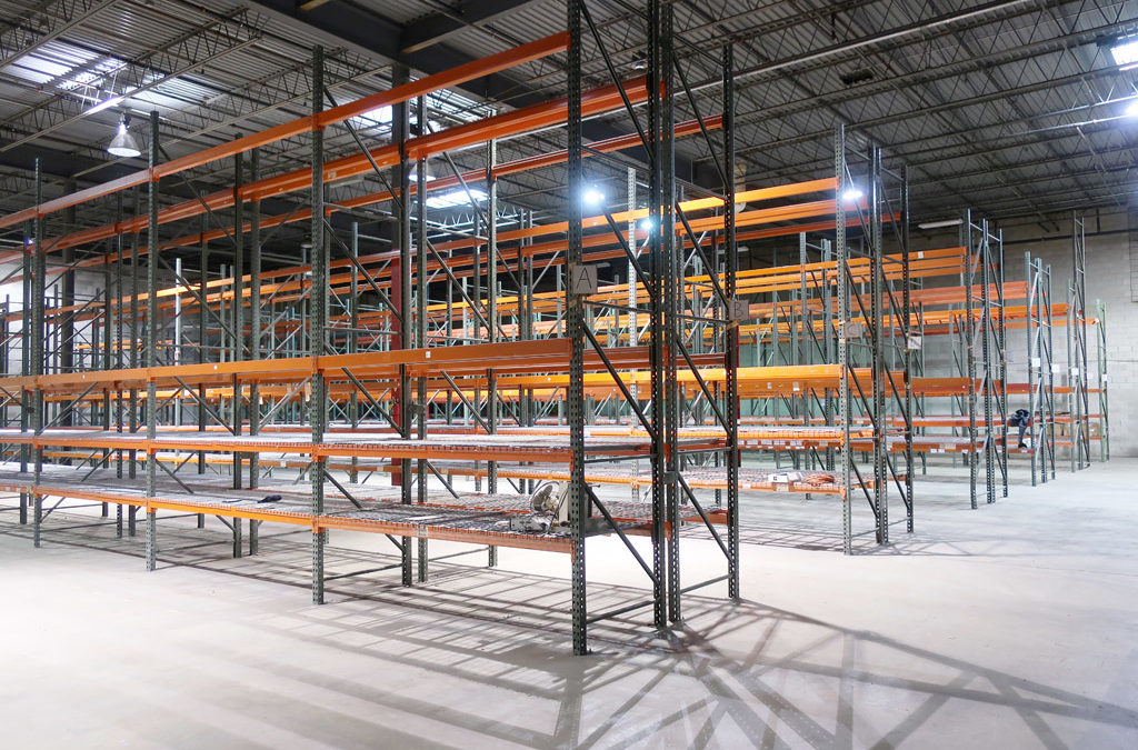 Available Pallet Rack – May 2019 Lot