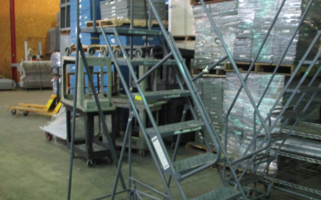 Used Rolling Step Ladders