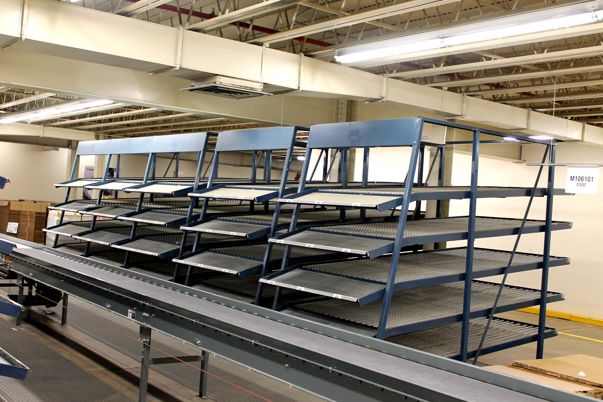 Keneco Gravity Carton Flow Racking System