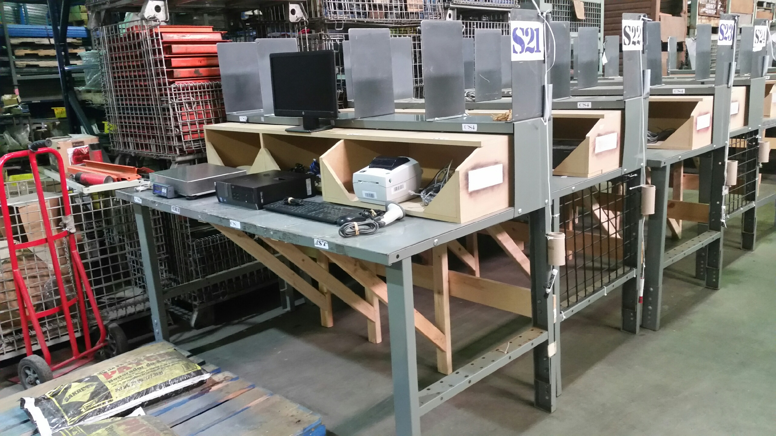 Used Work Tables